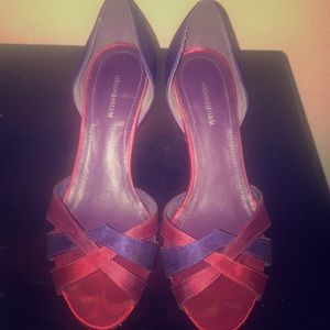 Rich colored H&M heels size 5